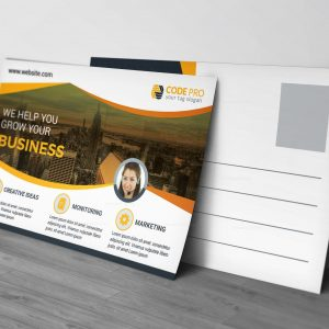 EPS Modern Postcard Design Template