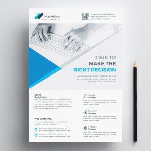 Elegant Corporate Business Flyer Design