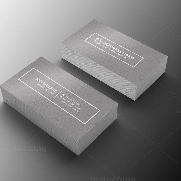Engineer Minimal Business Card Design 1