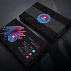 Finance Stylish Business Card Design