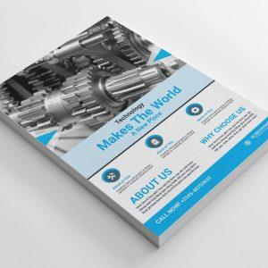 First Class Corporate Business Flyer Design