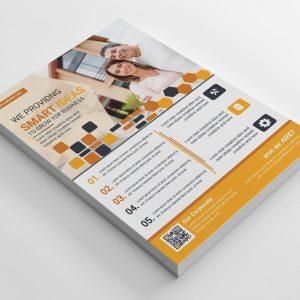 Happy Corporate Business Flyer Design Template