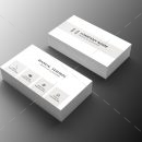 Lawyer Minimal Business Card Design 1