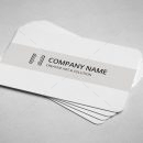 Lawyer Minimal Business Card Design 3