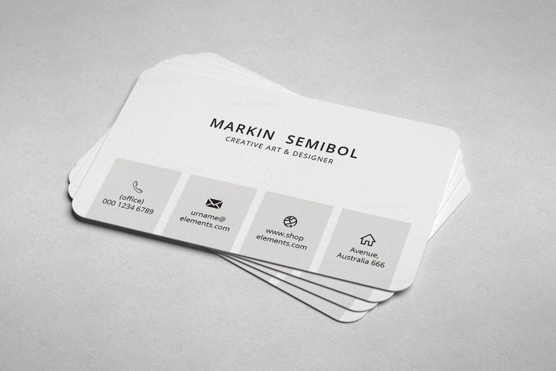Lawyer Minimal Business Card Design 002241 Template Catalog
