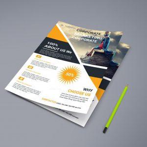 Marketing Corporate Business Flyer Design