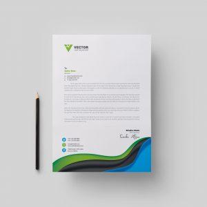 Medical Letterhead Design Template