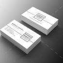 Minimal Manager Business Card Design 1