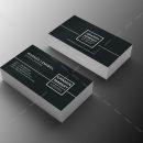 Minimal Manager Business Card Design 2