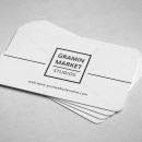 Minimal Manager Business Card Design 3