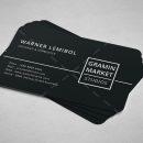Minimal Manager Business Card Design 6