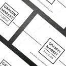 Minimal Manager Business Card Design 7