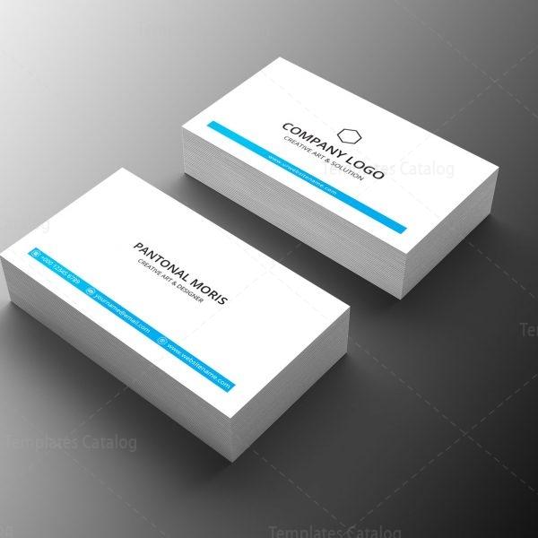 Minimal Medical Business Card Design 1