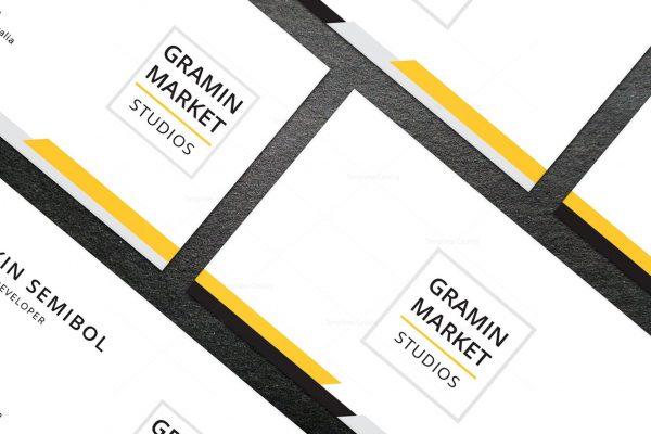 Minimal Pharmacist Business Card Design