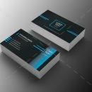 Minimal Programmer Business Card Design 1