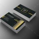 Minimal Programmer Business Card Design 2