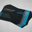 Minimal Programmer Business Card Design 4