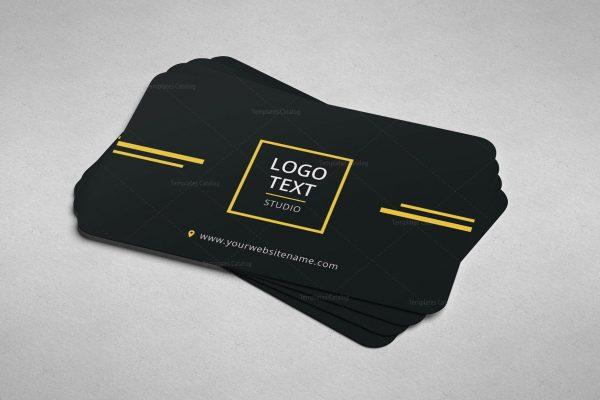 Minimal Programmer Business Card Design