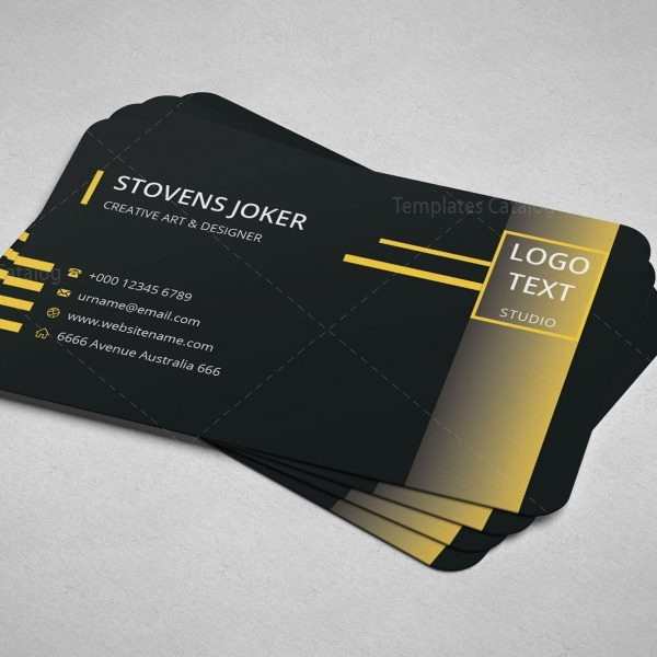 Minimal Programmer Business Card Design 6