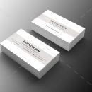 Minimal Retail Business Card Design 1