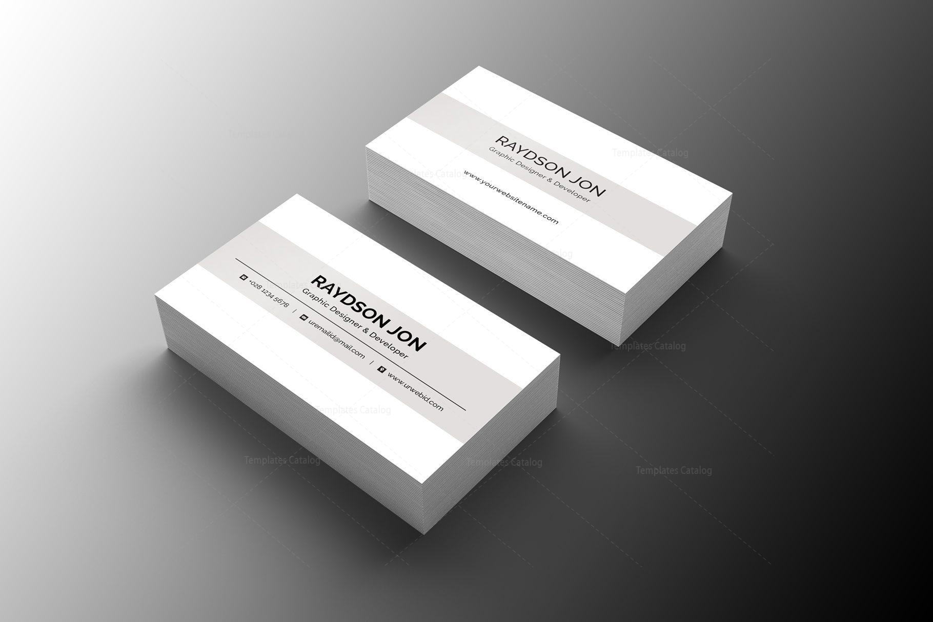 Minimal retail business card design 002244 template catalog minimal retail business card design 1 colourmoves