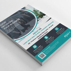 Modern Corporate Business Flyer Design