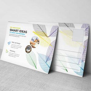 Modern Professional Postcard Design Template