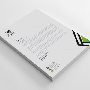Name Corporate Letterhead Design Templates
