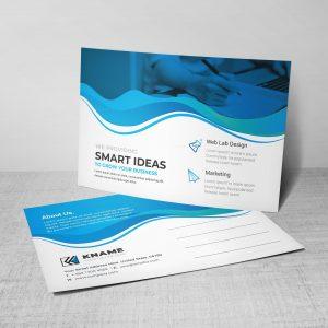 Ocean Professional Postcard Design Template
