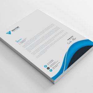 Pharmacy Corporate Letterhead Design Template