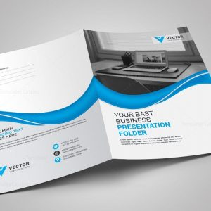 Pharmacy Presentation Folder Design Template