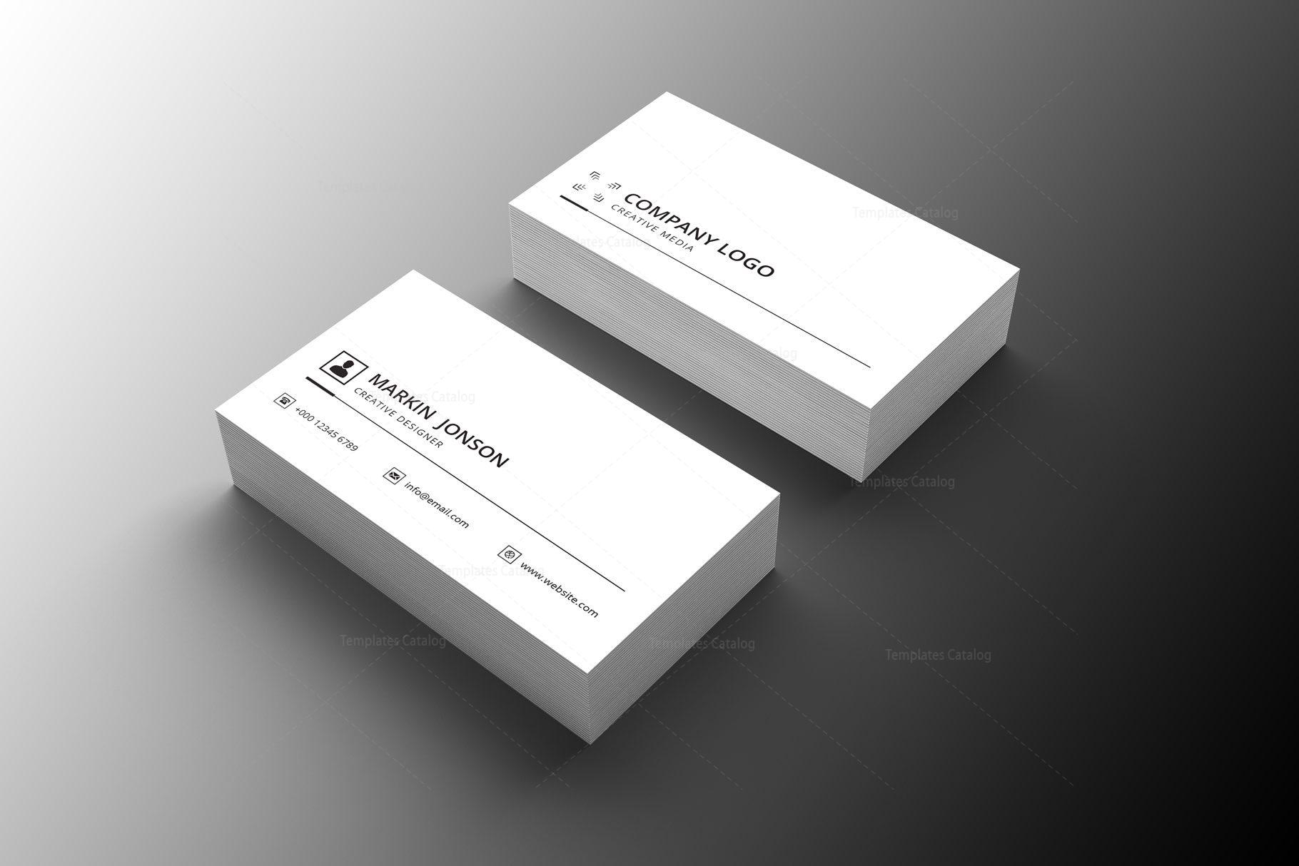 salesman professional business card design 002237