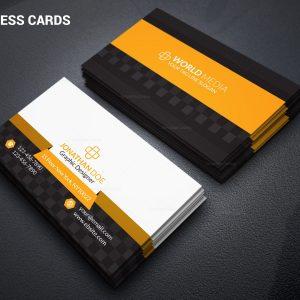 Salesperson Stylish Business Card Design