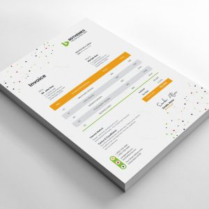 Catering Invoice Design Template