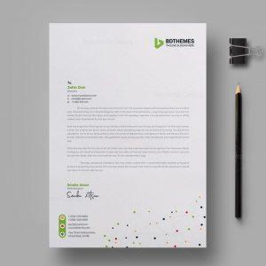Catering Letterhead Design Template