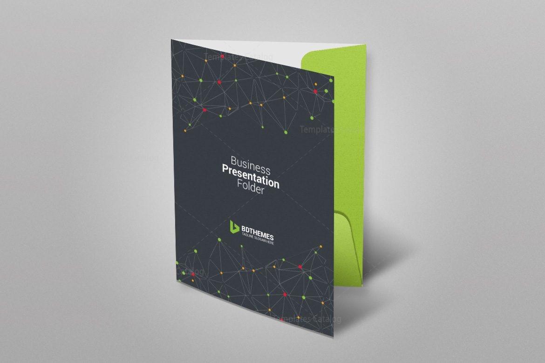 catering presentation folder template 002350 template