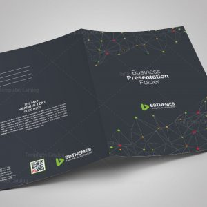 Catering Presentation Folder Template