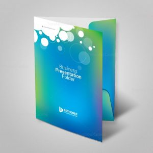 Commercial Presentation Folder Template