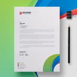 Consulting Letterhead Design Template