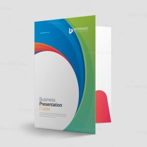 Consulting Presentation Folder Template