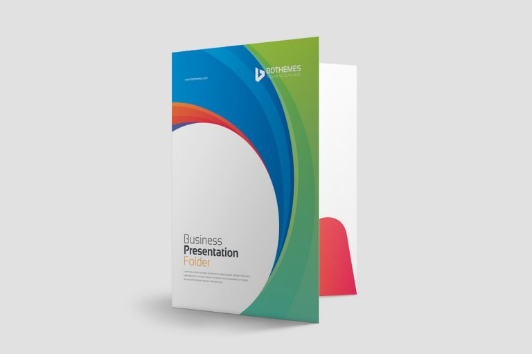 Consulting Presentation Folder Template 1