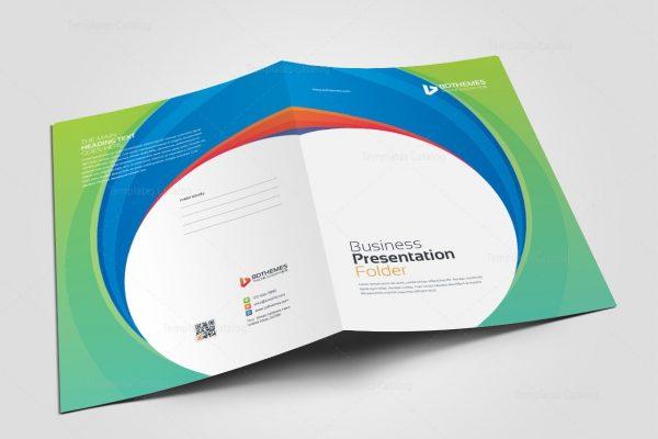 Consulting Presentation Folder Template