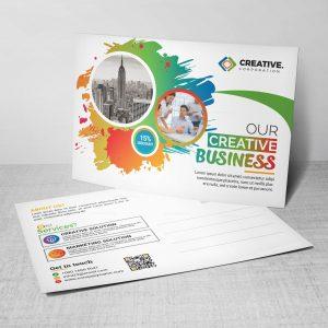 Creative Postcard Design Template