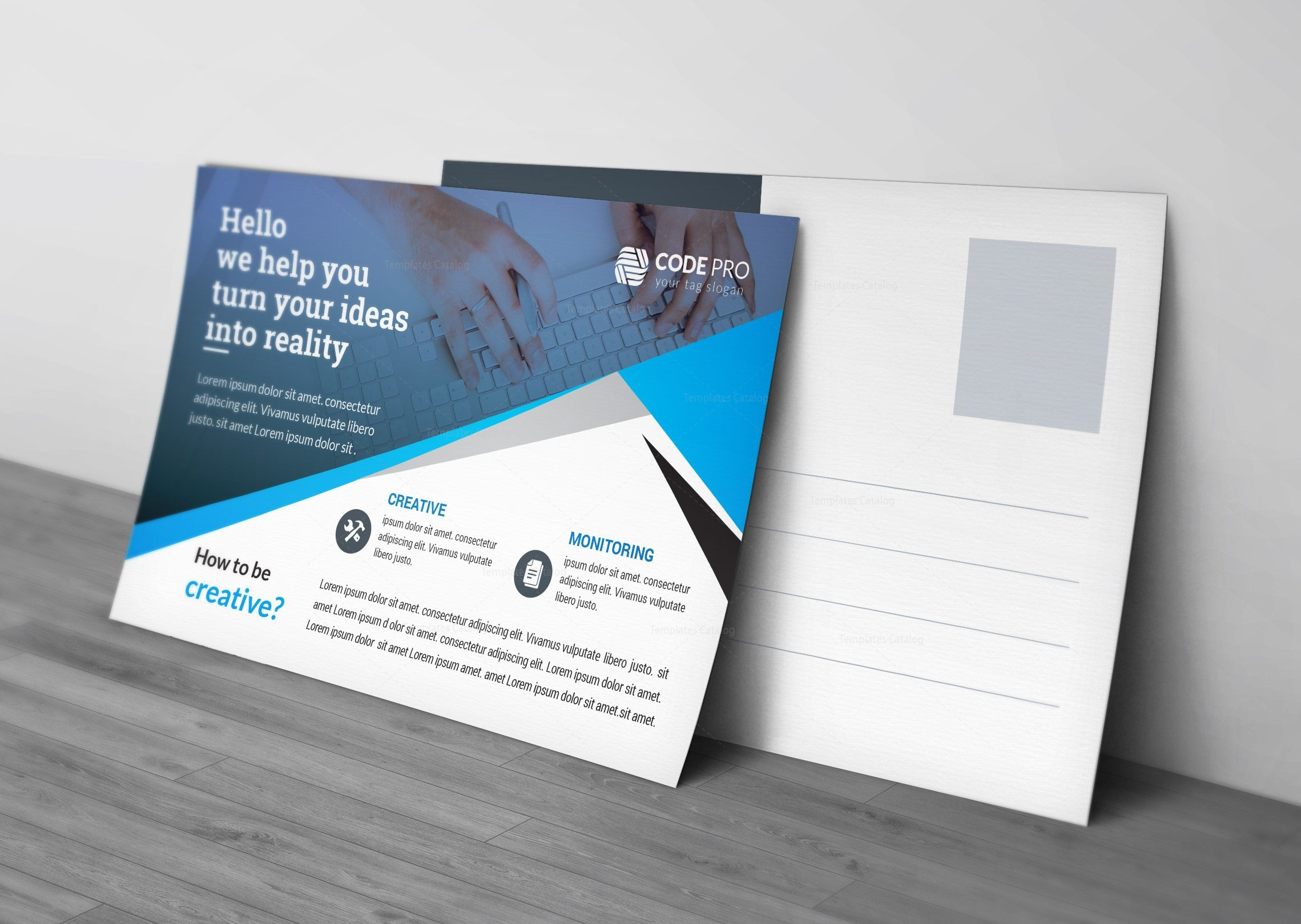Defense corporate postcard template 002364 template catalog defense corporate postcard template cheaphphosting Image collections