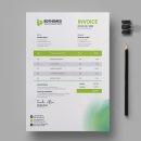 Environment Invoice Design Template