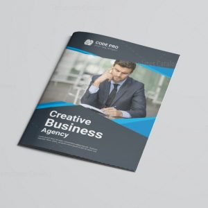 Factory Bi-Fold Brochure Template