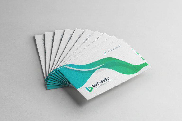 Insurance Business Card Template 1