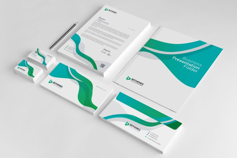 Insurance Corporate Identity Pack Template 1