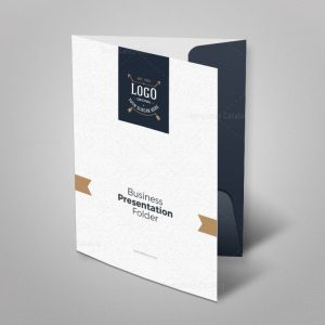 Luxury Presentation Folder Template