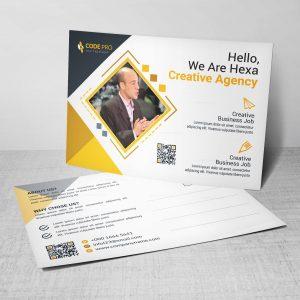 Medical Corporate Postcard Template
